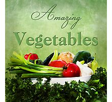 Amazing Vegetables  Photographic Print