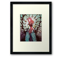 The Ovipositor Framed Print