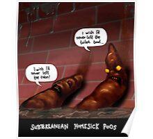 Subterranean Homesick Poos Poster