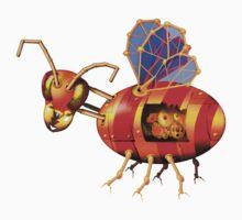 steampunk bumblebee by gruntpig