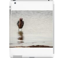 Reddish Egret's Bad Hair Day iPad Case/Skin