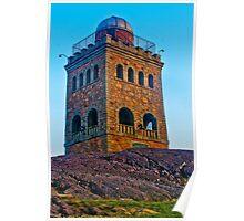 Red Rock Tower:   Lynn, Mass Poster