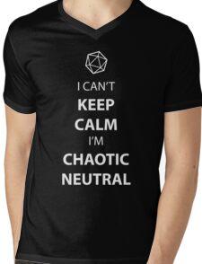 I can't keep calm, I' chaotic neutral Mens V-Neck T-Shirt