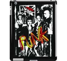 Music punk rock art graffiti  iPad Case/Skin