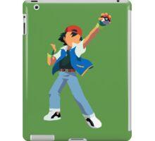 Ash Ketchum Blank Face  iPad Case/Skin