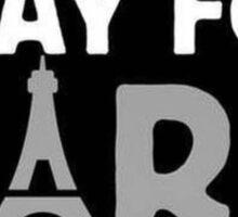 Pray For Paris Donation Sticker Sticker