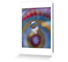 Single Bubble ~ iPhone Case Greeting Card