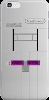Super Nintendo (SNES) by blueking