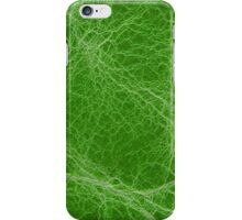 Green leather  iPhone Case/Skin