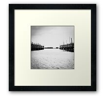 Oyster Farm Framed Print