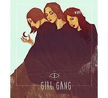 Girl Gang Photographic Print