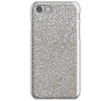 White leather  iPhone Case/Skin
