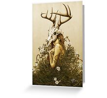 The Deer Secret Greeting Card