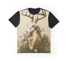 The Deer Secret Graphic T-Shirt
