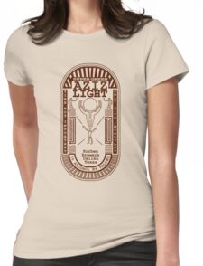 Aziz Light-The Divine Brew Womens Fitted T-Shirt