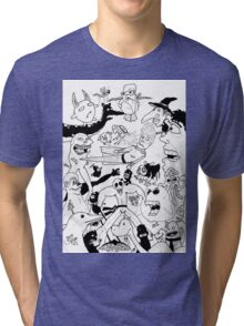 George Clarke - Characters Apr15 Tri-blend T-Shirt