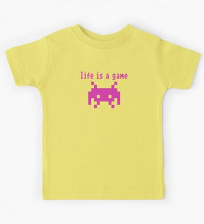 Life is a game Kids Tee