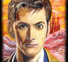 Tenth Doctor  by MadelinesArt