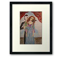 The Phantom... Framed Print