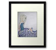 A lonely butterfly Framed Print