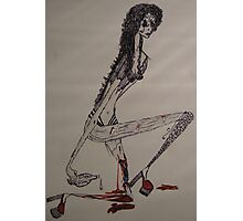 One-legged prostitute... Photographic Print