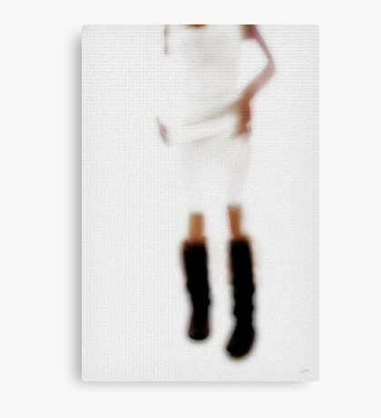 Paper Doll Canvas Print