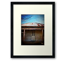 iPhoneography: Colonial past Framed Print