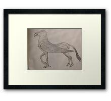 Buckbeack Framed Print