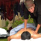 Massage at the 2012 MB Reggae Fest by Sandra Gray