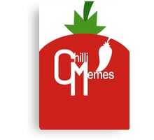 """Chilli Memes """"Red Pepper"""" Canvas Print"""