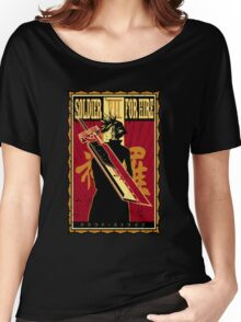 Soldier for Hire Women's Relaxed Fit T-Shirt