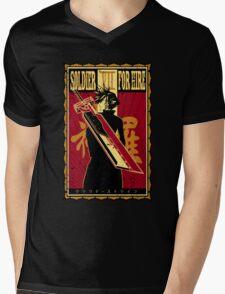 Soldier for Hire Mens V-Neck T-Shirt