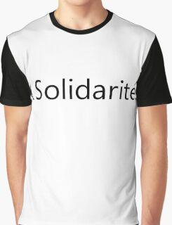 Solidarité Graphic T-Shirt