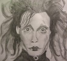 Edward Scissorhands by Lunalight3