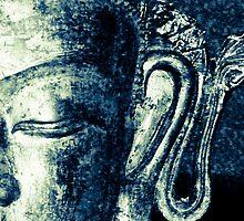 Buddha 5 by Angela  Wright