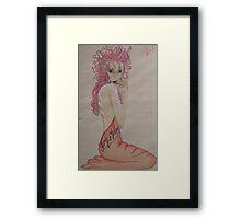 Marie Antoinette-my version  Framed Print
