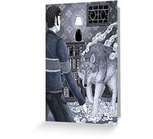 Der Wolf Greeting Card