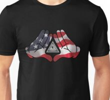 American Illuminati Hands Diamond Unisex T-Shirt