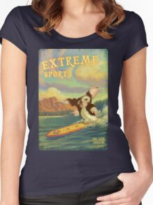 Retro Surf Women's Fitted Scoop T-Shirt