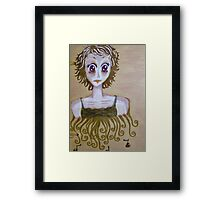Self portrait, part two Framed Print
