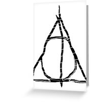 Deathly Hallows 6 Greeting Card
