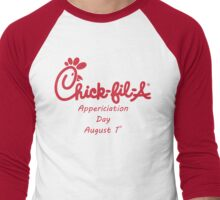 Chick-Fil-A Appreciation Day Men's Baseball ¾ T-Shirt