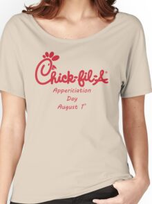 Chick-Fil-A Appreciation Day Women's Relaxed Fit T-Shirt