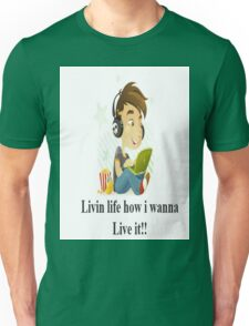 Life with no rules Unisex T-Shirt
