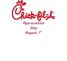 Chick-Fil-A Appreciation Day Photographic Print