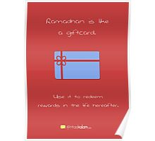 Ramadhan is Like.. a Giftcard Poster