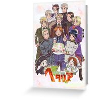 Hetalia Tee Greeting Card