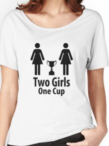 Two Girls One Cup - Parody Women's Relaxed Fit T-Shirt