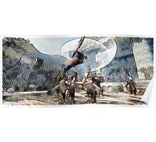 Lann battle  werewolf Poster