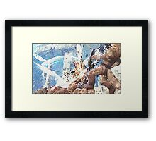 Killing werewolf Framed Print